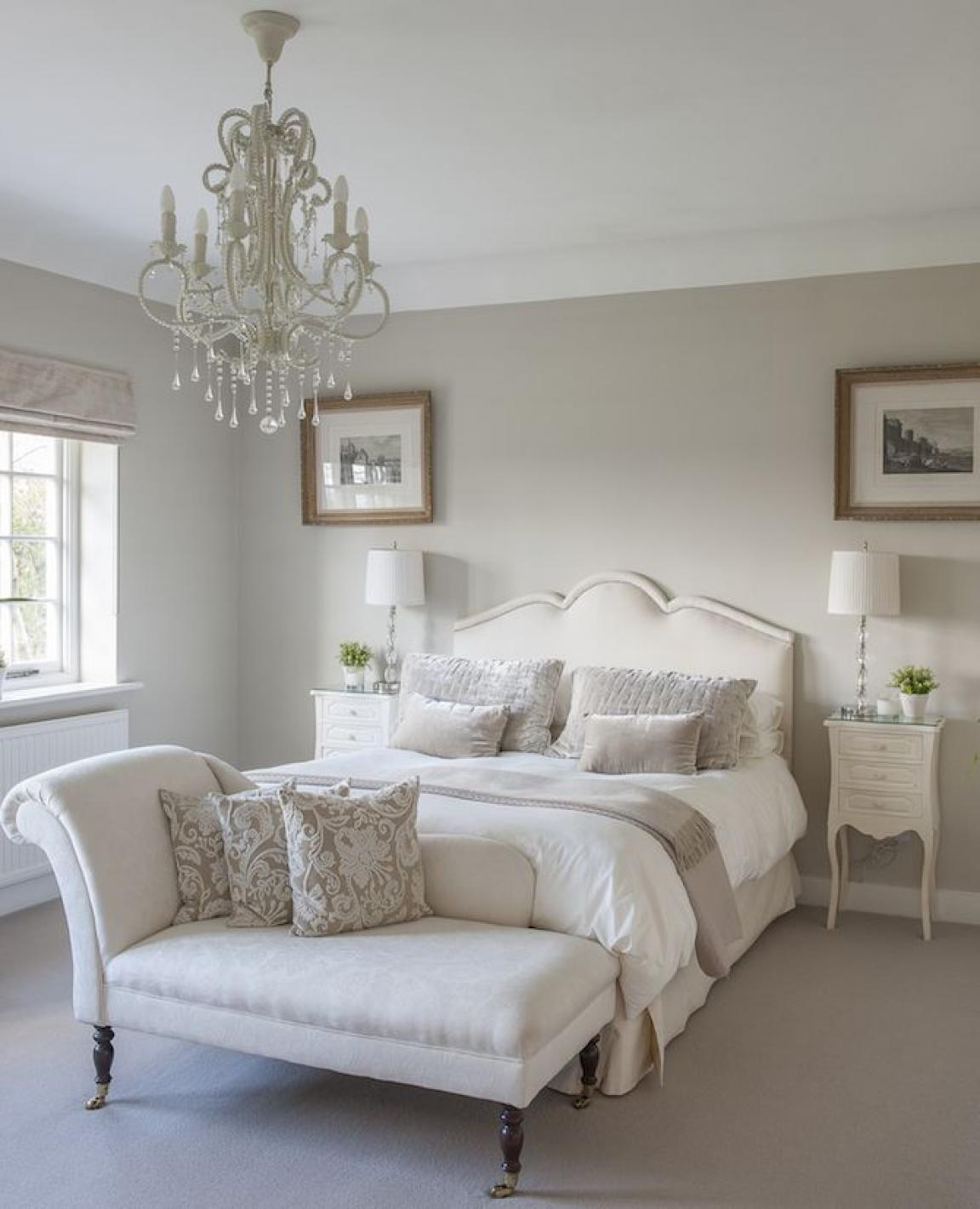 enchanting gloss white bedroom furniture with chandelier and - Glossy White Bedroom Furniture