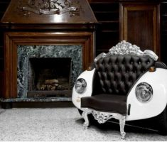 enchanting creative recycled furniture ideas for modern sofa chair