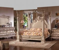 enchanting royal queen cushion headboard bedroom sets with gold theme colors