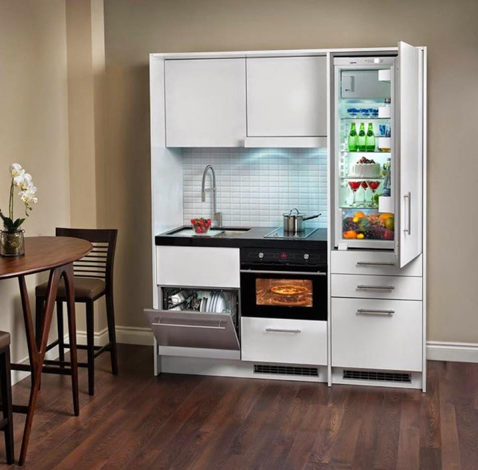Studio Apartment Kitchen Appliances