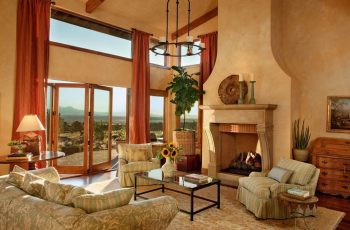 fabulous-tuscan-style-home-interior-living-room-with-fireplace