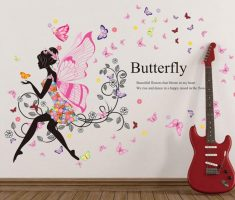 fairy butterfly wall stickers girls bedrooms