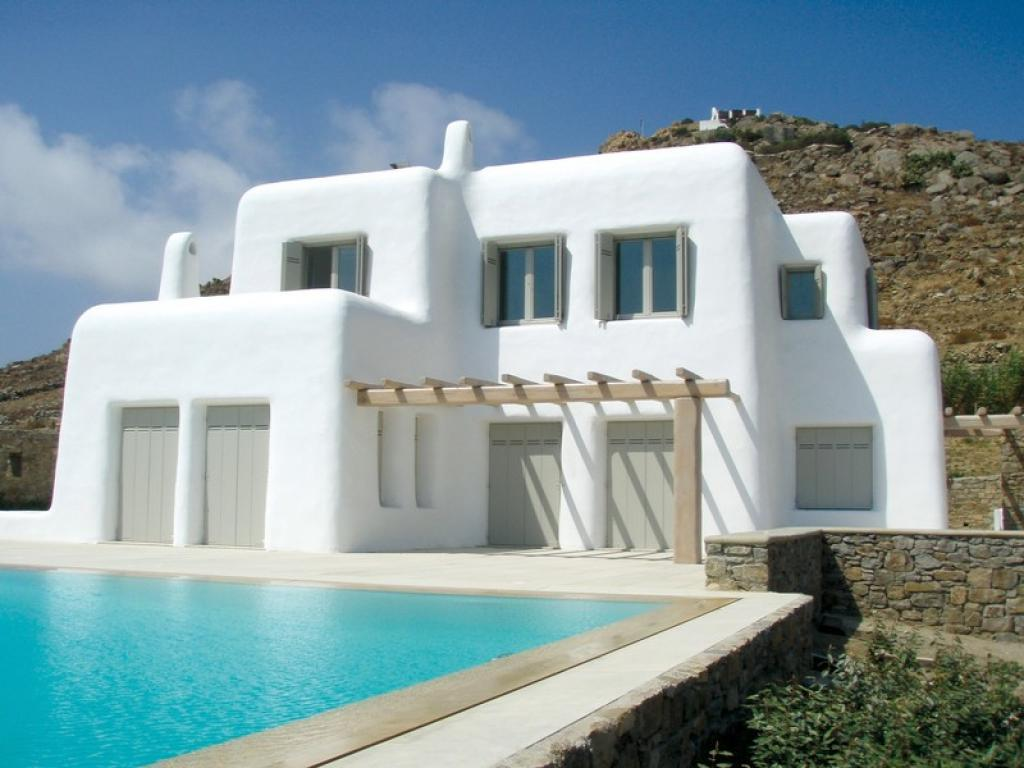 Fancy greek mediterranean style homes for House architecture styles