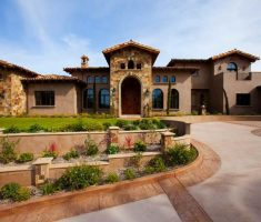 fancy mediterranean tuscan style homes design
