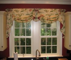 floral diy valances window treatments