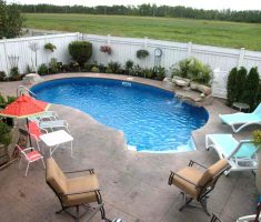 fun inground swimming pools for small backyards