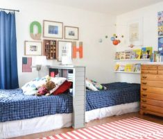 goo idea shared kids bedroom with dealing beds