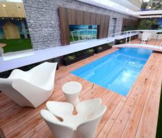 gorgeous modern small rectangle inground swimming pools