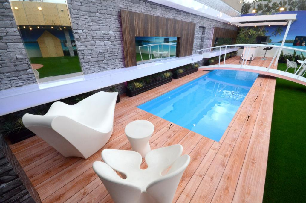 cute small rectangle inground swimming pools home inspiring - Big Houses With Pools Inside The House