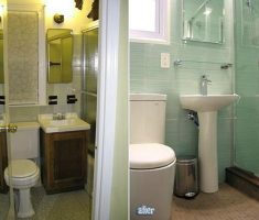 great ideas small bathroom remodeling before and after