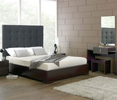 grey tufted headboard ideas bedroom
