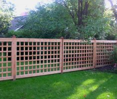 hard cheap fence panels boxes style
