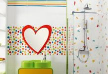 heart-love-frame-mirror-for-kids-bathroom-decor