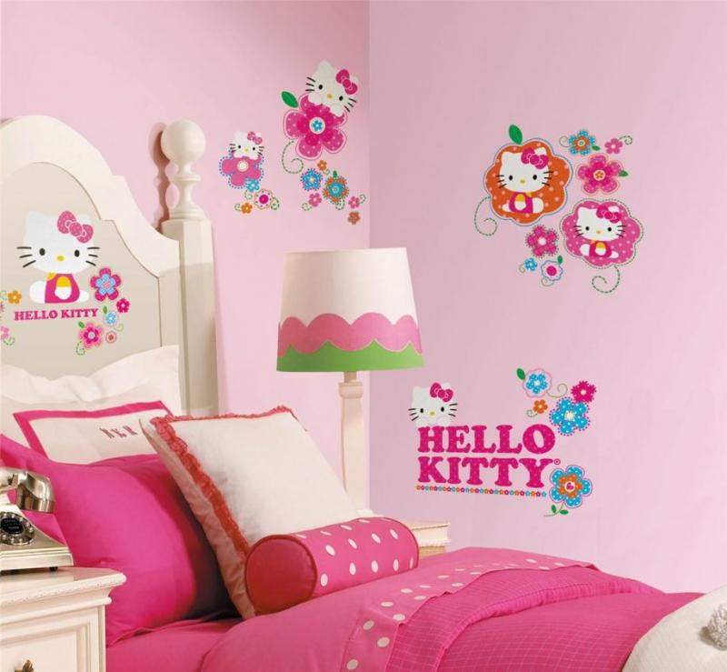 hello-kitty-wall-stickers-girls-bedrooms-pink-theme