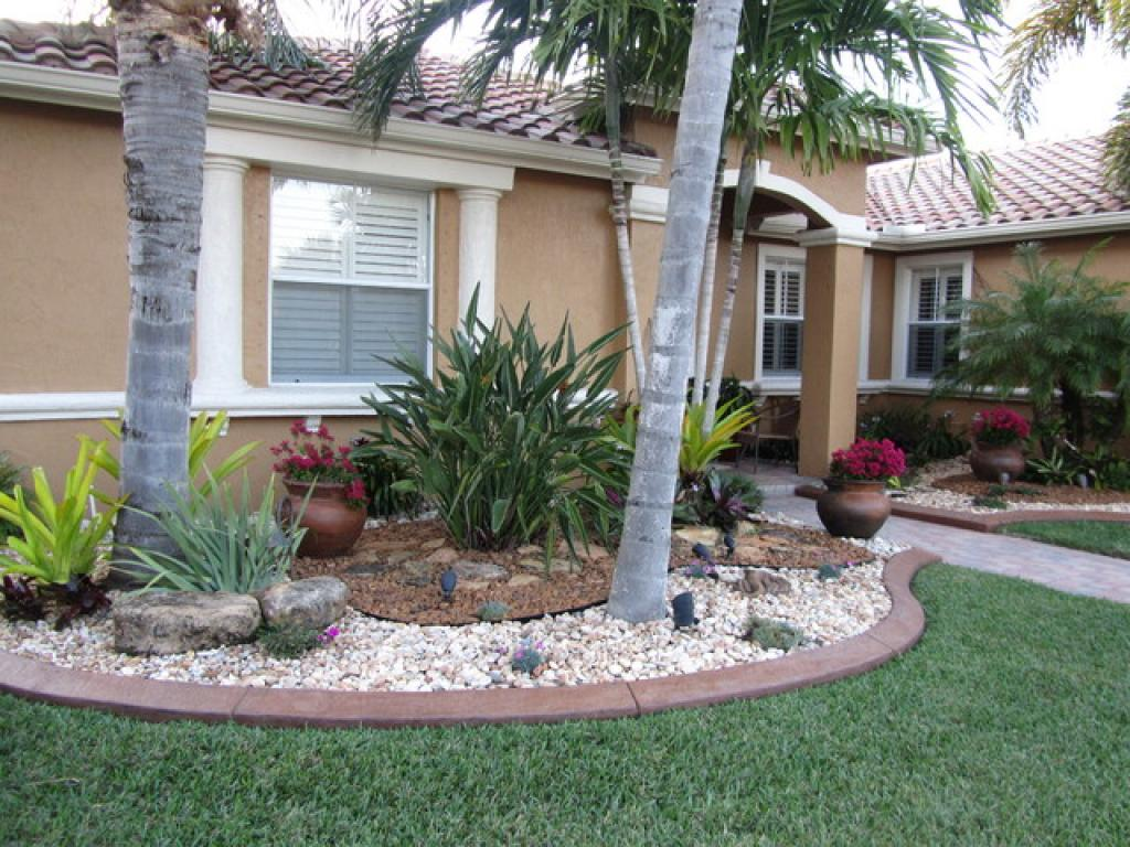 Landscaping ideas for front yard with rocks home inspiring for Landscaping your front yard