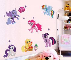little pony wall stickers girls bedrooms
