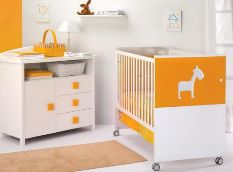 lovely-white-orange-theme-baby-nursery-furniture-by-cambarss