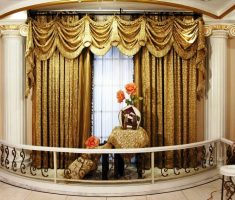 luxurious oper valances window treatments