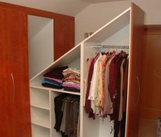 minimalist attic storage ideas for clothes drawer