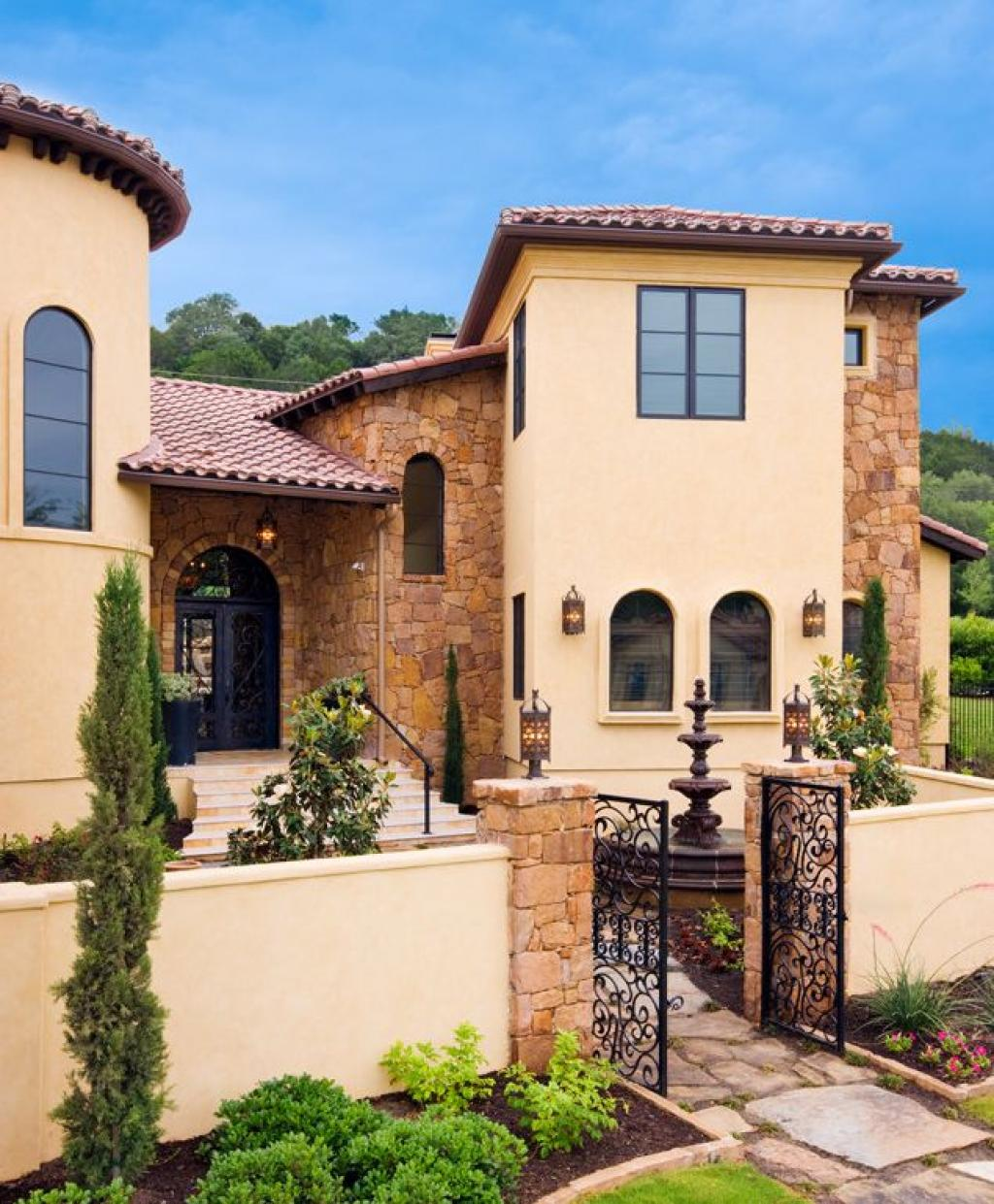 Tuscan Style Homes Andsmallmediterraneantuscanstylehomes