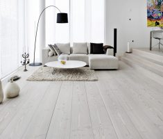 Minimalist Grey Laminate Flooring Seating Area Home Inspiring
