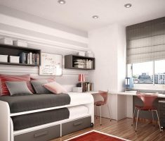 modern and cool boy room ideas small spaces