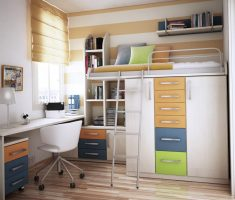 modern and saving boy room ideas small spaces