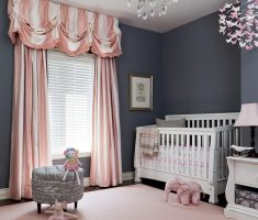 modern baby girl rooms grey and pink