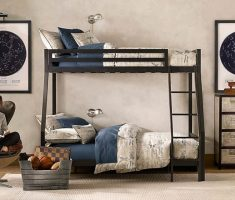 modern boy room ideas with bunk beds