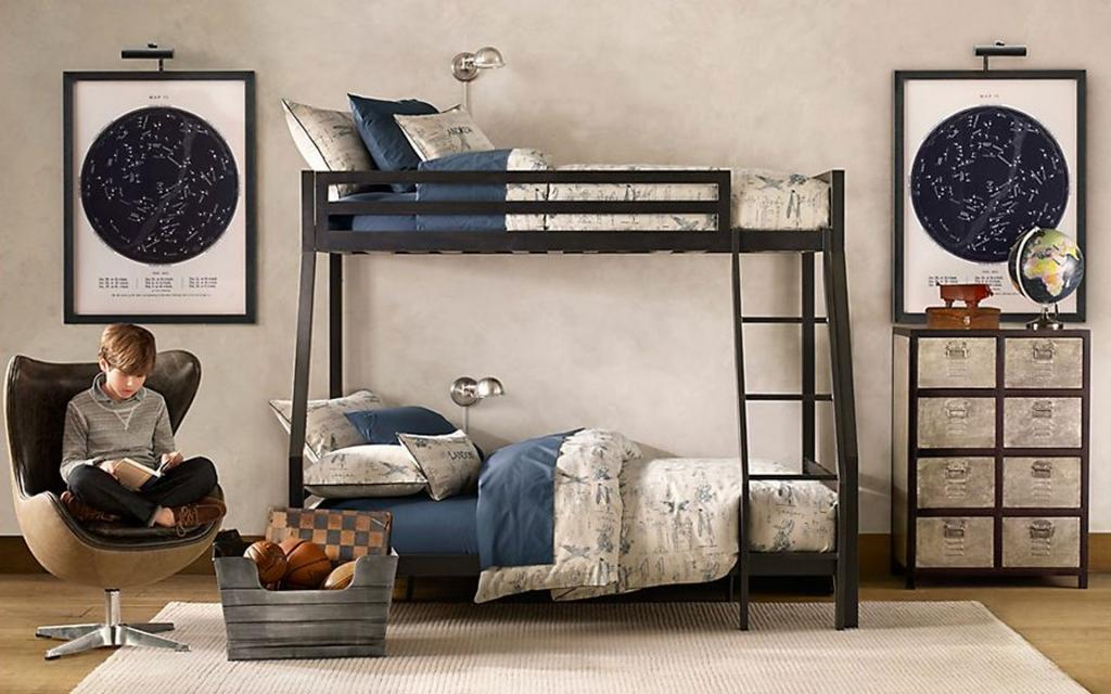 modern-boy-room-ideas-with-bunk-beds