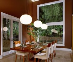 modern dining room feng shui style of interior design