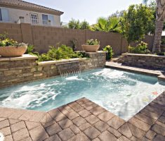 modern inground swimming pools for small backyards