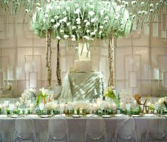 modern luxurious wedding room decorations reception