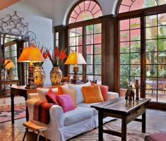 modern mexican interior design living room decoration for modern mexician house design