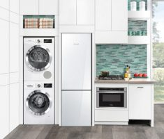 modern small appliances for small apartments whte theme