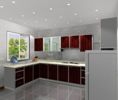 modern small cabinet kitchen design l shaped