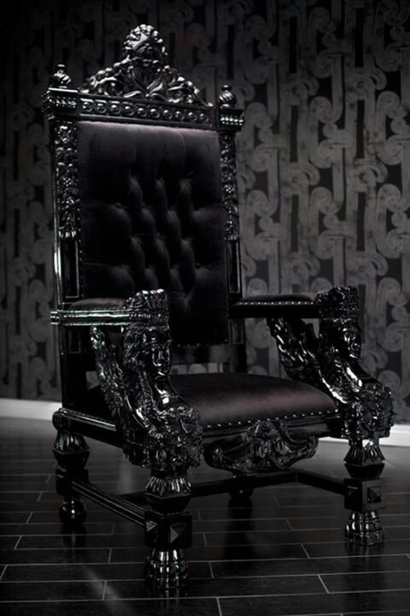 modern-throne-gothic-black-leather-sofa