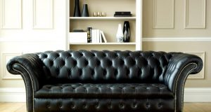 modern-tufted-black-leather-sofa