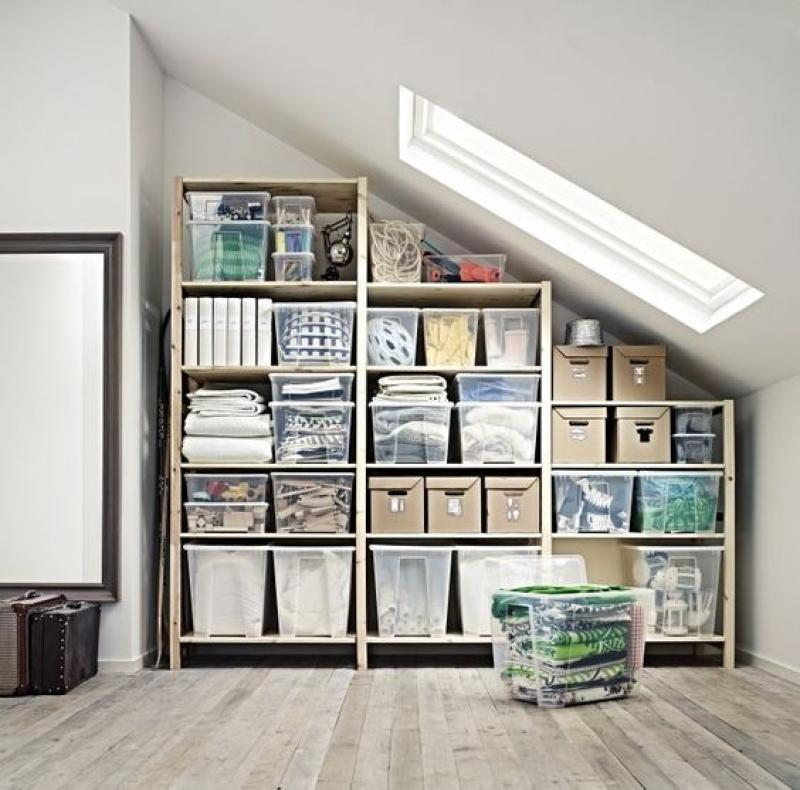 neat-attic-storage-ideas-shelve-storage