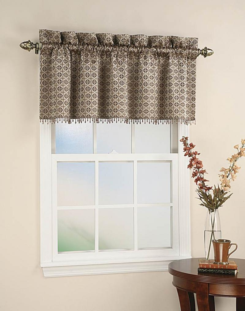 Beautify your home with valances window treatments for Window valance