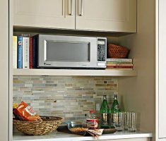 nice microwave wall mounted appliances for small apartment