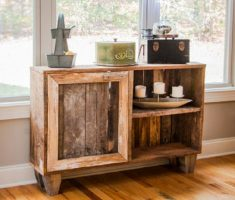 recycled pallet wood furniture for space cabinet storage