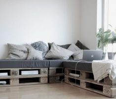 recycled pallet wood furniture sofa