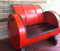 remarkable vat chair creative recycled furniture ideas