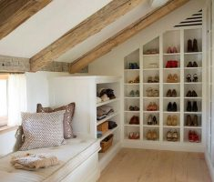 rest area on attic with attic storage ideas shoes storages