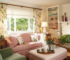 rustic farmhoue living room for small space decoration