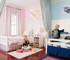 shared kids bedroom for girl and boy one room