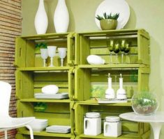 shelving space diy recycled furniture ideas