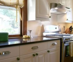 simple kitchen window treatment ideas