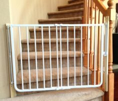 simple baby gates for stairs with no walls